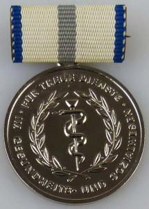 Medaille für treue Dienste im Gesundheits- und Sozialwesen in Silber (AH251b)