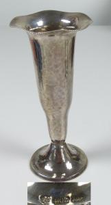 schöne alte kleine Vase aus massivem 800 Silber (da5731)
