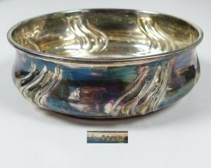 schöne alte Schale aus 835 Silber (da5730)