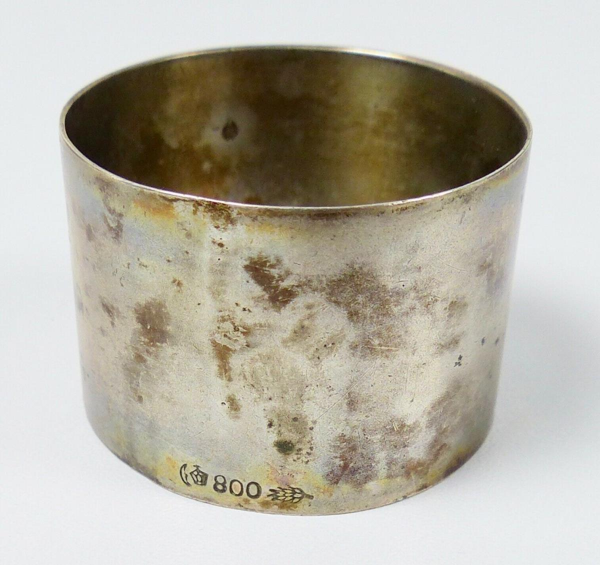 Serviettenring aus 800er Silber (da5863) 2
