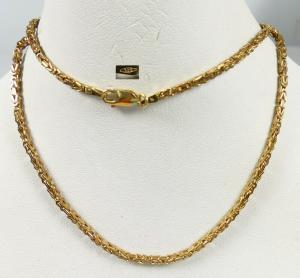 Kleine Königskette 42 cm aus 333 Gold   (da5676)