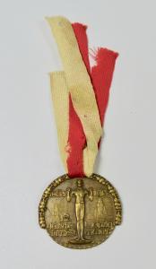 Medaille 12. Deutsches Turnfest Leipzig  12. - 16. Juli 1913 (da5903)