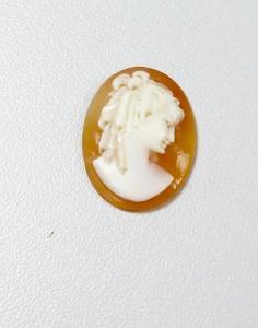 alte Gemme geschnitten, aus alter Brosche (da5929)