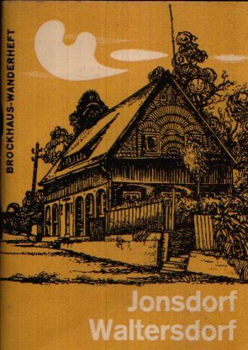 Jonsdorf Waltersdorf Brockhaus-Wanderheft Heft 69