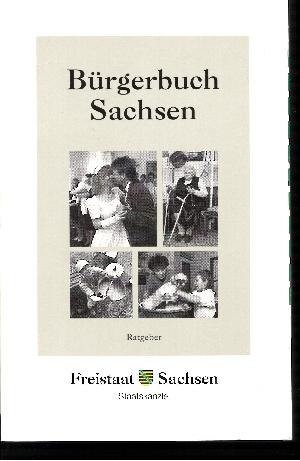 Bürgerbuch Sachsen Ratgeber