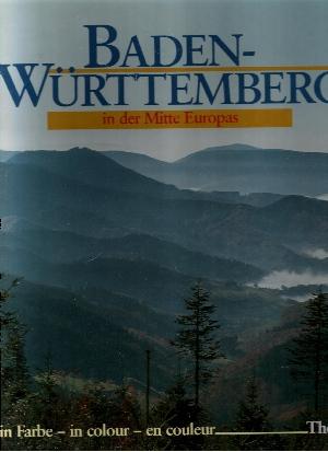 Baden-Württemberg in der Mitte Europas