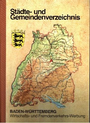 Städte- und Gemeindenverzeichnis Baden-Württemberg