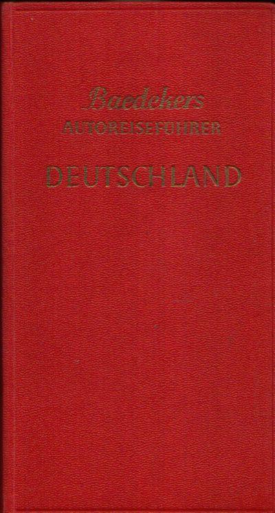 Deutschland die Bundesrepublik Offizieller Führer des Allgemeinen Deutschen Automobil- Clubs mit 51 Karten und Plänen und 100 Zeichnungen