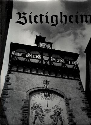 Bietigheim Ein Bilderbuch - Mit Miniaturen aus Vergangenheit und Gegenwart von Otto Rombach - Erschienen zur Feier des sechshundertjährigen Jubiläums der Stadt 1364 - 1964