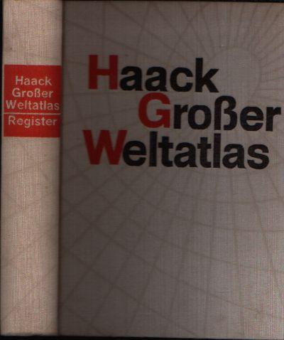 Haack Großer Weltatlas Register Band