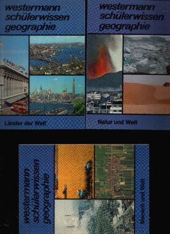 Westermann Schülerwissen Geographie 3 Büchlein: Mensch und Welt - Natur und Welt - Länder und Welt