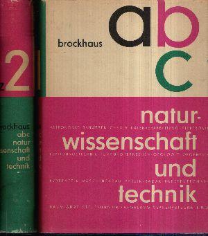 Brockhaus ABC Naturwissenschaft und Technik Band 1 + 2