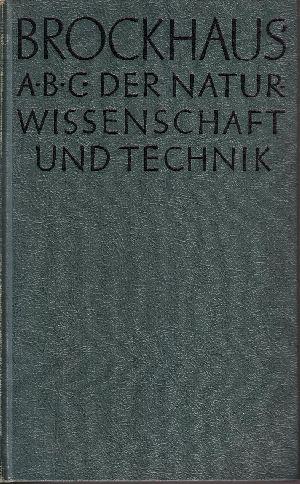 Brockhaus ABC Naturwissenschaft und Technik