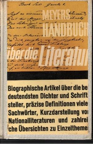 Meyers Handbuch über die Literatur