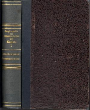Neue Enzyklopädie der Wissenschaften und Künste für die deutsche Union fünfter Band