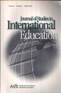 Journal of Studies in International Eduction Volume 8, Issue 4, Winter 2004
