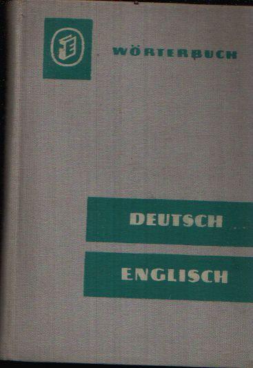 Deutsch- Englisches Wörterbuch