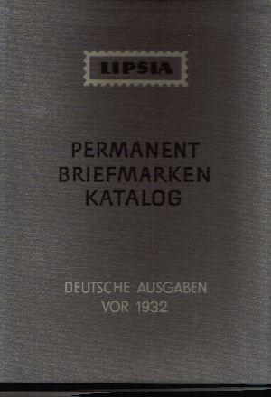 Permanent Briefmarken Katalog Deutsche Ausgabe Vor 1932 Nr 15982