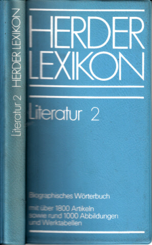 Herder Lexikon Literatur 2
