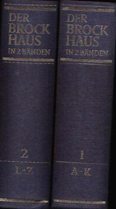Der Brockhaus in zwei Bänden