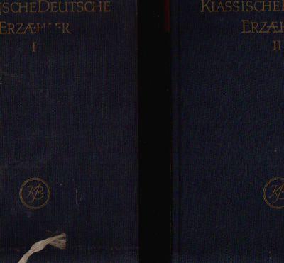 Klassische Deutsche Erzähler Band 1 & 2