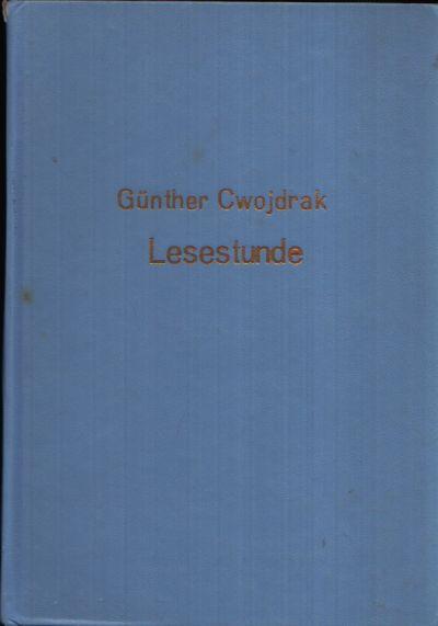 Lesestunde - Deutsche Literatur in zwei Jahrzehnten