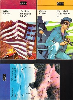 Wolkenberge tragen nicht - Das Schiff läuft wieder aus - Die Spur der blauen Schafe 3 Taschenbücher
