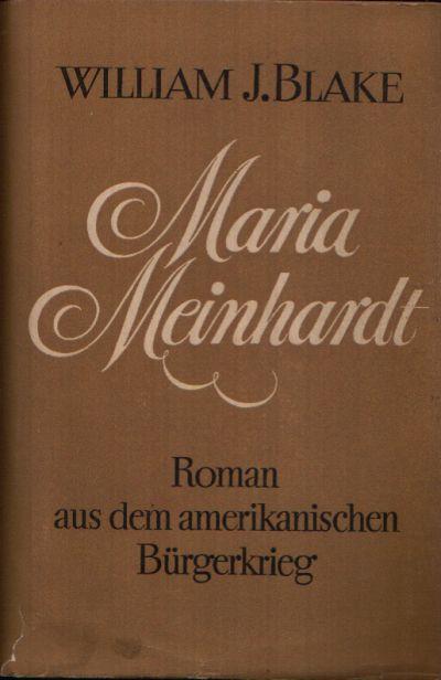 Maria Meinhardt Roman aus dem amerikanischen Bürgerkrieg