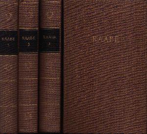 Raabes Werke in fünf Bänden 4 Bände: 1 + 2 + 3 + 5