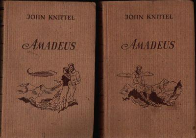 Amadeus Roman erster und zweiter Band