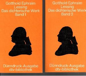 Das dichterische Werk Band 1 + Band 2
