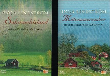 Mittsommerzauber - Sehnsuchtsland 2 Bücher - Liebesgeschichten aus Schweden