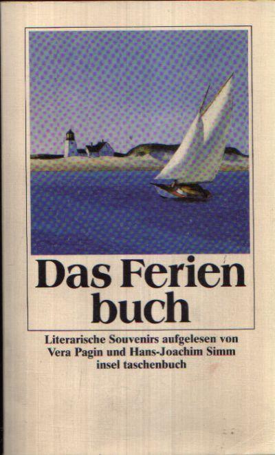 Das Ferienbuch Literarische Souvenirs aufgelesen