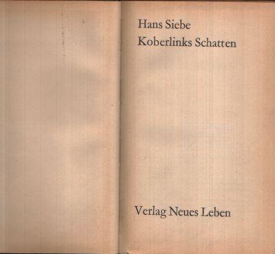 Koberlinks Schatten Illustrationen von Theo Hesselbarth