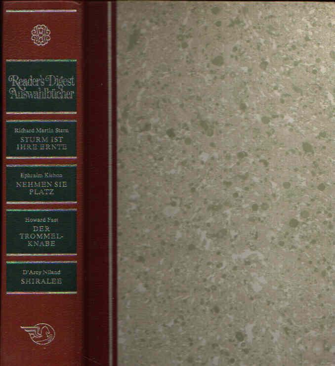 Sturm ist ihre Ernte - Nehmen Sie Platz - Der Trommelknabe - Shiralee Readers Digest Auswahlbücher
