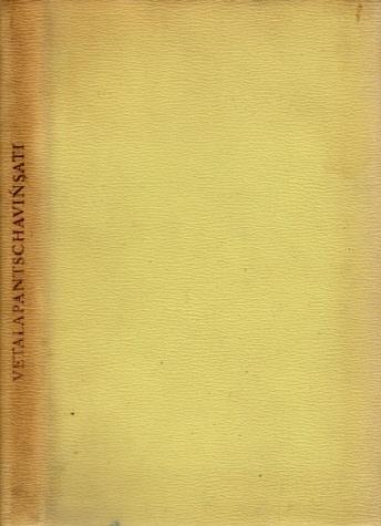 Vetalapantschavinsati - Die Fünfundzwanzig Erzählungen eines Dämons