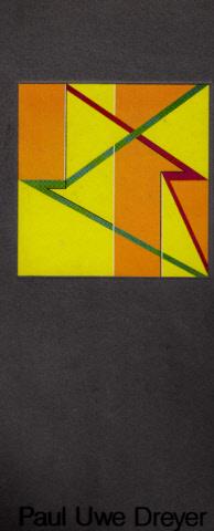 Paul Uwe Dreyer - Staatliche Kunsthalle Berlin - Ausstellung vom 29.11.86 - 28.12.86