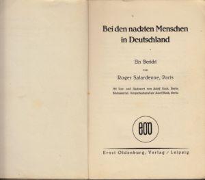 Bei den nackten Menschen in Deutschland Ein Bericht