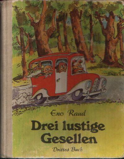Drei lustige Gesellen - Drittes Buch Illustriert von Edgar Valter