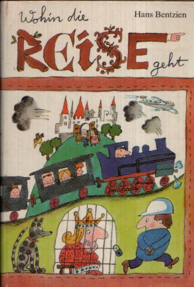 Wohin die Reise geht Illustrationen von Konrad Golz