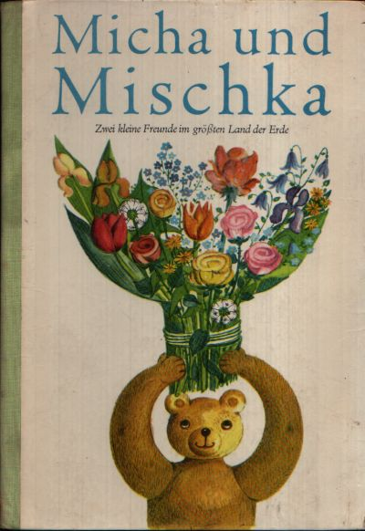 Micha und Mischka Beschäftigungsbuch für Kinder von 8 Jahren an