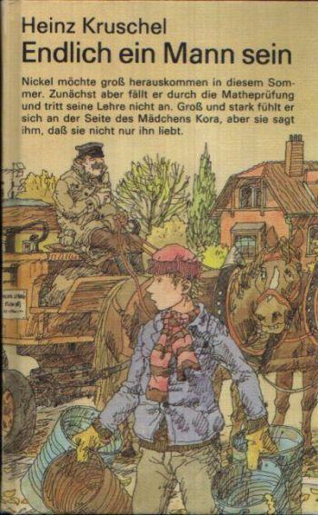 Endlich ein Mann sein Illustrationen von Eberhard Binder
