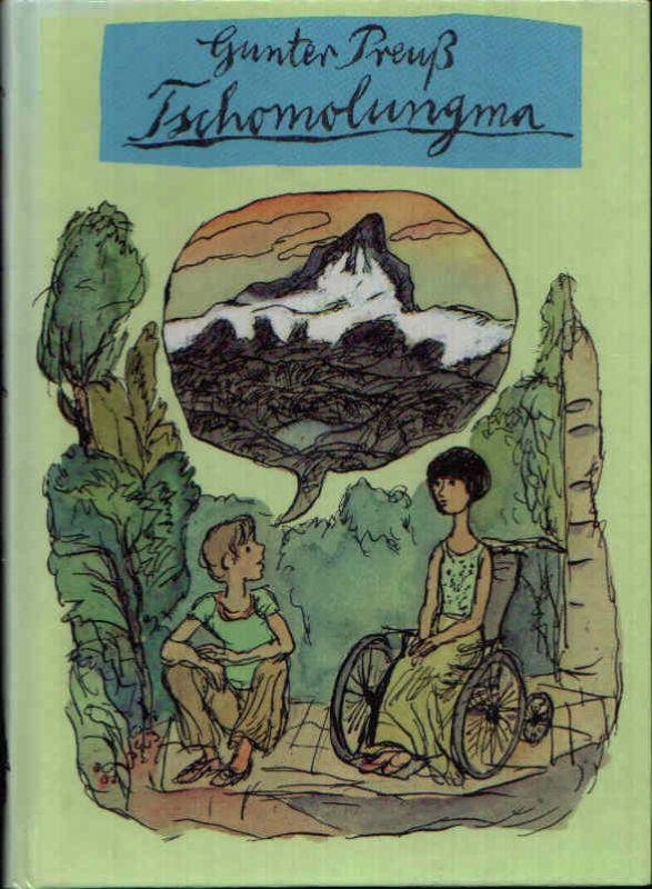 Tschomolungma Illustrationen von Gerhard Rappus.