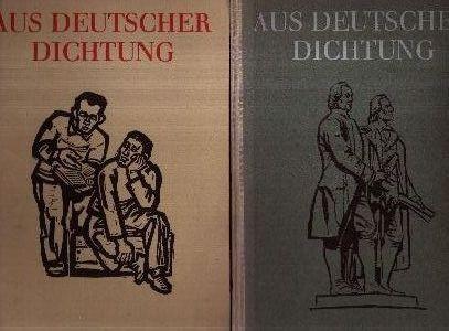 Aus Deutscher Dichtung - zweiter und dritter Band