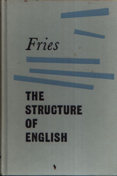 The Strukturell of English An introduction to the contruction of English Sentences