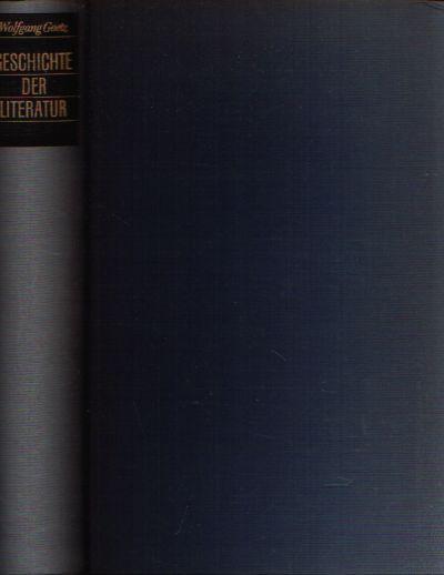 Geschichten der Literatur Eine Einführung in die Kunst des Lesens und in die Weltliteratur Mit 208 Abbildungen im Text und 36 Text