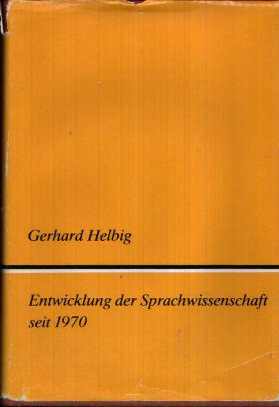 Entwicklung der Sprachwissenschaft seit 1970