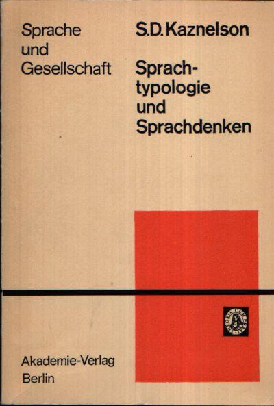 Sprachtypologie und Sprachdenken Reihe Sprache und Gesellschaft Band 56