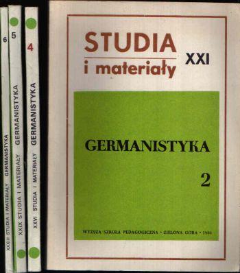 Studia i Materialy 4 Bücher: Nr. 2 + 4 + 5 + 6