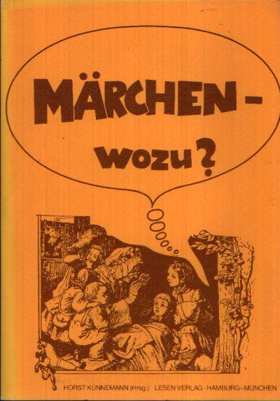 Märchen- wozu? Beihefte zum Bulletin Jugend + Literatur 7